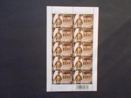 """BELGIQUE - FEUILLES  Complete  N° 3846 """" Musée En Piconrue  Bastogne  """"  Année 2008  Planche 2  Neuf XX Voir Photo ) 22 - België"""