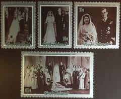 Cook Islands 1972 Silver Wedding MNH - Islas Cook