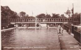 Royaume Uni- England - Bradford - The Open Air Swimming Baths, Manningham Park. - Bradford