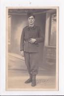 CARTE PHOTO MILITARIA Militaire   En Souvenir De Mon Cousin Artilleur - Personnages