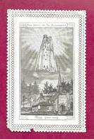 IMAGE PIEUSE/ CANIVET / DENTELLE..NOTRE DAME De La RECOUVRANCE/ Prière à NOTRE DAME Des TOURAILLES (Orne 61)...2 Scans - Santini