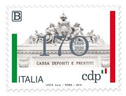 Italia Repubblica 2019 Cassa Depositi E Prestiti Euro 1,10 MNH** Integro - 6. 1946-.. República