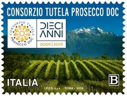 Italia Repubblica 2019 Prosecco Euro 1,10 MNH** Integro - 6. 1946-.. República