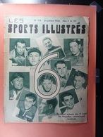 Les Sports Illustrés 1935 N°719 6 Jours Bruxelles Gand Lutte Boxe Football Anvers Gand Petit Biquet Flix - Deportes