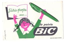 Buvard J'écris Propre Avec La Pointe Bic - Buvards, Protège-cahiers Illustrés