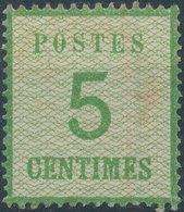 FRANCE (ALSACE-LORRAINE)- 1870, Mi 4, Neuf, No Gum - Alsace-Lorraine