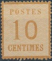 FRANCE (ALSACE-LORRAINE)- 1870, Mi 5, Neuf, No Gum - Alsace-Lorraine