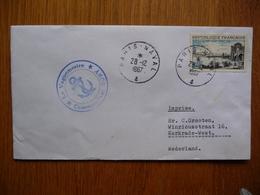 (2) Schiffpost Shipmail LE VAGUEMESTRE FRANCE 1967 - Boten