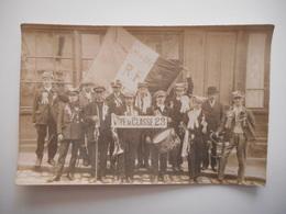 02 TRELOUP, TRELOU SUR MARNE,  CARTE PHOTO CLASSE 1923 - France