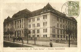 """Romania, TÂRGU MUREȘ, Liceul De Băeţi """"Alexandru Papiu Ilarian"""" (1927) Postcard - Roemenië"""