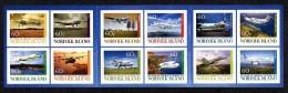 NORFOLK 1082/93 Carnet Autocollant Aviation - Aviones