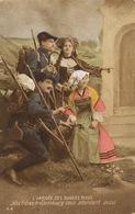Chasseurs Alpins . Les Diables Bleus Vers Strasbourg . Alsace Lorraine . Guerre 1914 - Regimenten