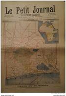 1892 LE PETIT JOURNAL N° 93 CARTE DU DAHOMEY - ANNIVERSAIRE DE LA BATAILLLE DE MARS LA TOUR - Journaux - Quotidiens