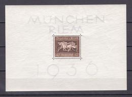 Deutsches Reich - 1936 - Michel Nr. Block 4 X - 32 Euro - Germany