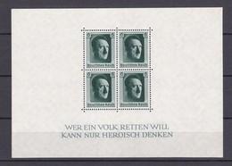 Deutsches Reich - 1937 - Michel Nr. Block 7 - 70 Euro - Germany