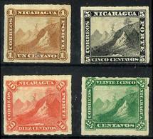 Nicaragua 4 Sellos Sin Goma. Cat.44,75€ - Nicaragua