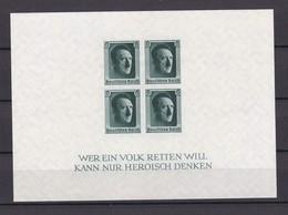 Deutsches Reich - 1937 - Michel Nr. Block 8 - 50 Euro - Germany