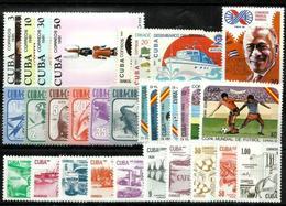 Cuba Lote De 17 Series Nuevas. Cat.45€ - Cuba