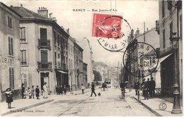 FR54 NANCY - Poisson - Rue Jean D'arc - Tramway - Animée - Belle - Nancy