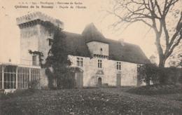 ***  24  ***   Environs De Sarlat  SARLAT  Château De La Roussay Façade De L'entrée  Timbrée  Excellent état - Sarlat La Caneda