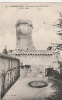 ***  24  ***  BOURDEILLES Le Grand Donjon Du Château Timbrée  Excellent état - France