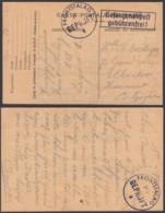 Belgique Stalag 212 - Emploi D'une Carte De Camp De Prisonnier En France (VG) DC4711 - Guerra 40 – 45