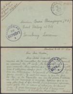 Belgique Stalag 212 - Envoi Sur Bristol, Via Bureau De Libramont Du 19-X-1940 (VG) DC4714 - Lettres