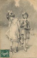 Art Card Jeu De Diabolo . Enfants . Poupée . Viennoise  Envoi à Villeneuve St Georges - Juegos Y Juguetes