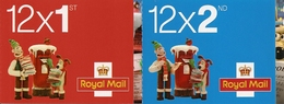 GREAT BRITAIN, FOLDED BOOKLET, 2010, LX 41/42, Christmas - Booklets
