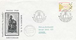 DC-2254 COVER NETHERLANDS 1968 - SPEC. POSTMARK BIBLE - Cristianesimo