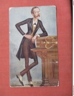 IRISH SECRETARY ARTHUR JAMES BALFOUR EDUCATED AT ETON AND CAMBRIDGE VANITY FAIR .  Has Crease     Ref 3754 - Famous People