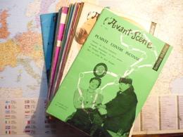 L'Avant-Scène Femina-Théâtre Lot De 29 Numéros Consécutifs N°142 à 170 Années 1956-1958 - Livres, BD, Revues