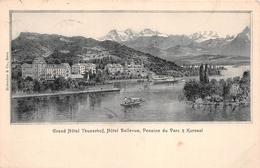 ¤¤    -  SUISSE    -  THOUNE   -  Grand Hôtel Thunerhof, Hôtel Bellevue, Pension Du Parc & Kursaal       -  ¤¤ - BE Berne