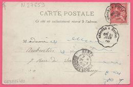 2x Ambulant SENONES A ETIVAL + NANCY - Sur Cp Moyenmoutier - L'Abbaye - Edit. Ad WEICK - 1902 - France