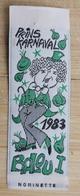 Aalst Carnaval  Nominette 1983 Prins Karnaval Balou - Carnaval