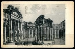 POZZUOLI (NA) - Antico Tempio Di Serapide - Cartolina Viaggiata Anno 1938 - Pozzuoli