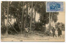 RC 14769 SENEGAL 1922 - 25c OBL DAKAR SUR CARTE POSTALE NON VOYAGÉE TB - Sénégal (1887-1944)