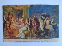 Exposition De Bruxelles 1910 = Une Soirée Dans Un Restaurant Parisien - Weltausstellungen