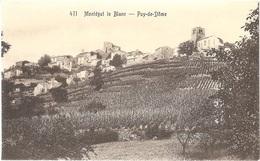"""Dépt 63 - MONTAIGUT-LE-BLANC - Vue Générale - (""""Montégut-le-Blanc"""") - Montaigut"""