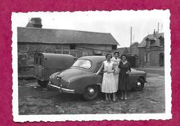 PHOTO 9 X 6,2 Cm  ...AUTOMOBILE Ancienne,  FEMMES (PIN UP) - Automobiles