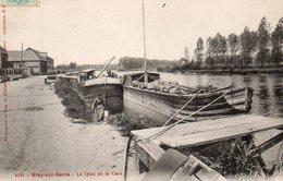 BRAY-sur-SEINE - Le Quai De La Gare - - Bray Sur Seine