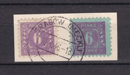 Mecklenburg-Vorpommern - 1945 - Michel Nr. 9a/10 - Briefst. - Zone Soviétique