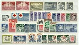 Canadá Lote 37 Sellos. Cat.52,90€ - Colecciones
