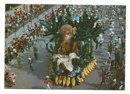 RIO CARNAVAL ALEGORIA DA ESTACAO MANGUEIRA 1960/70 Detail Annonce Scan Recto/verso - Rio De Janeiro