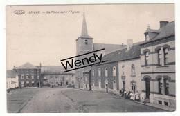 Aiseau (la Place Vers L'église 1914) - Aiseau-Presles