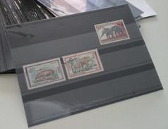 66 Cartes D'envoi Format A6 - 3 Bandes Rhodoïd Et Feuille De Protection - Karteikarten