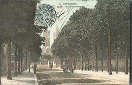CPA Normandie Calvados Caen Boulevard Bertrand - Caen