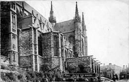 Mons Bergen église Ste Waudru Kerk Koets Paardenkoets Deutsche Feldpost 4/6/1918      M 1720 - Mons