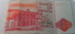2000 Billets De Collection Espagne - Spagna