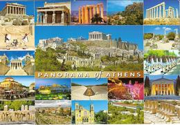 CPM - GRECE - PANORAMA OF ATHENS - ATHENES - MULTIVUES - Grecia